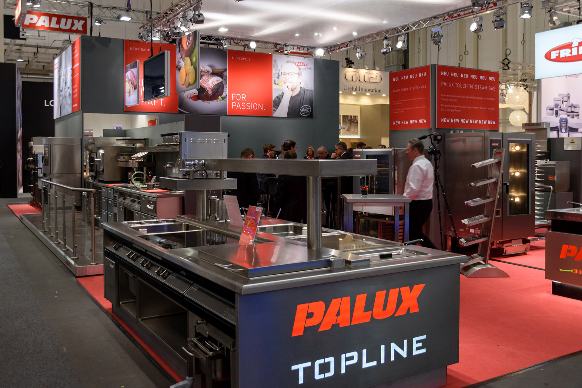 INTERNORGA 2017: PALUX sporting a new look in Hamburg