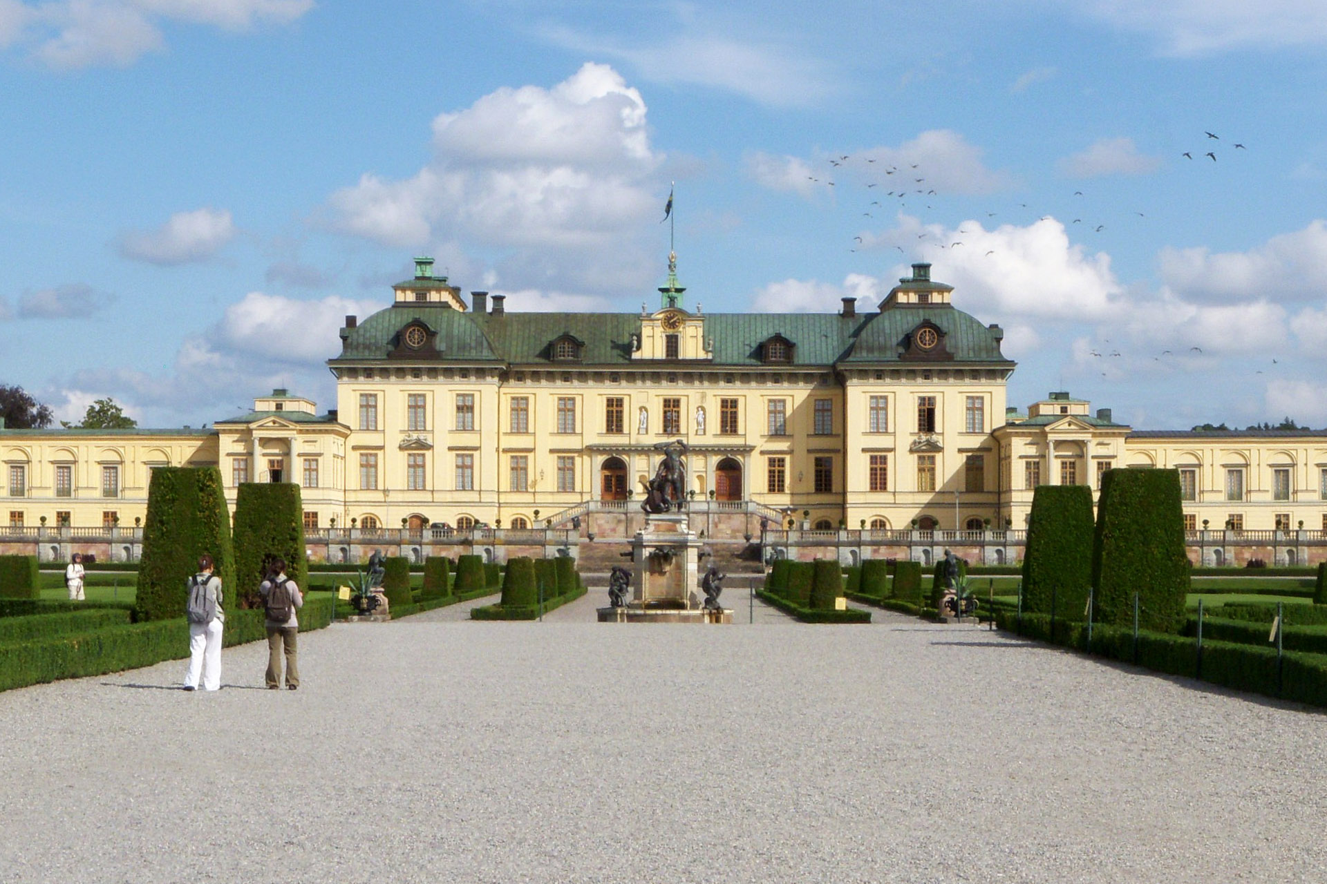 Café & Restaurant at the Drottningholm Palace in Sweden uses PALUX-Technology