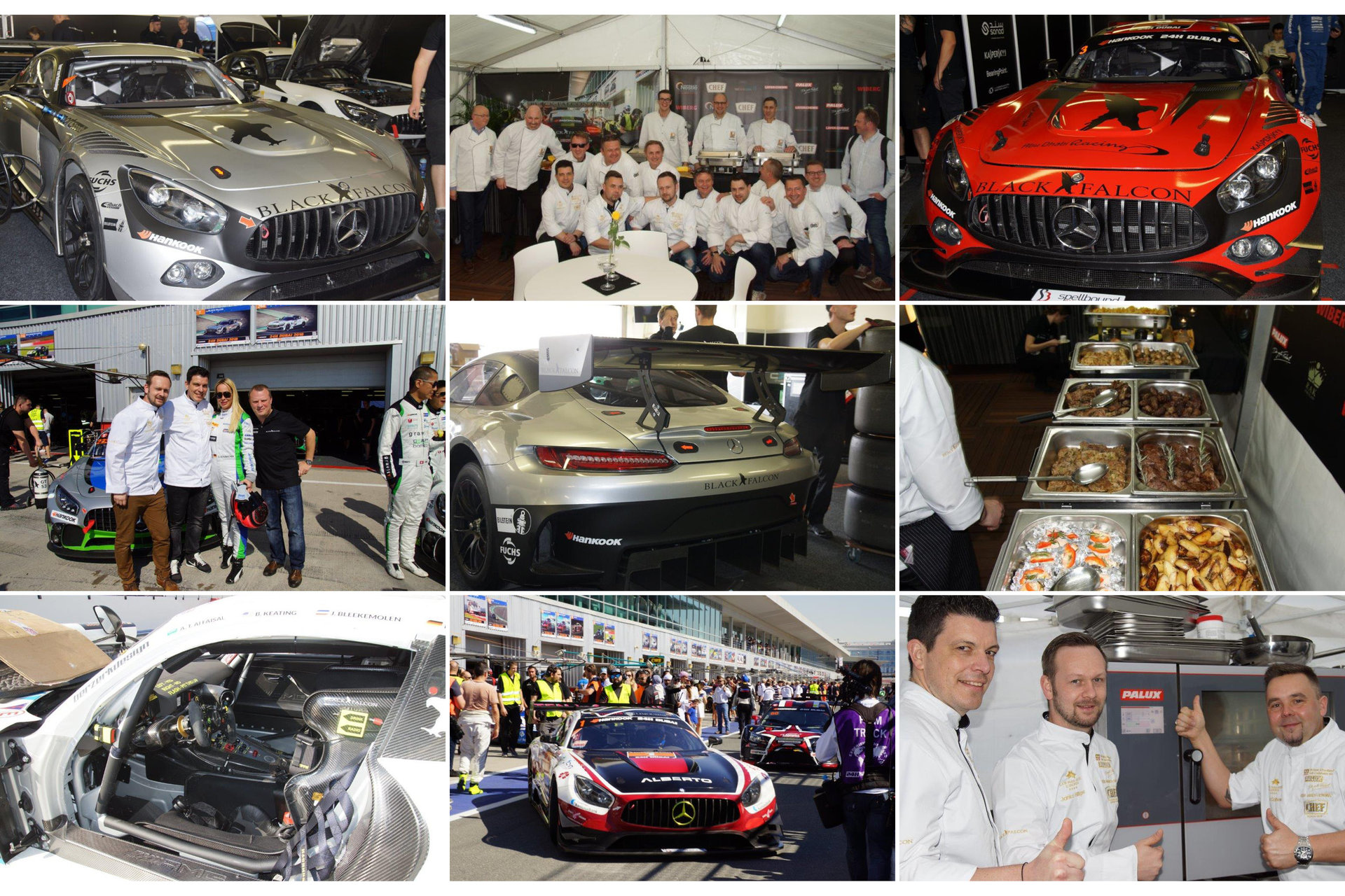 PALUX kitchen equipment at the 24-hour race in Dubai