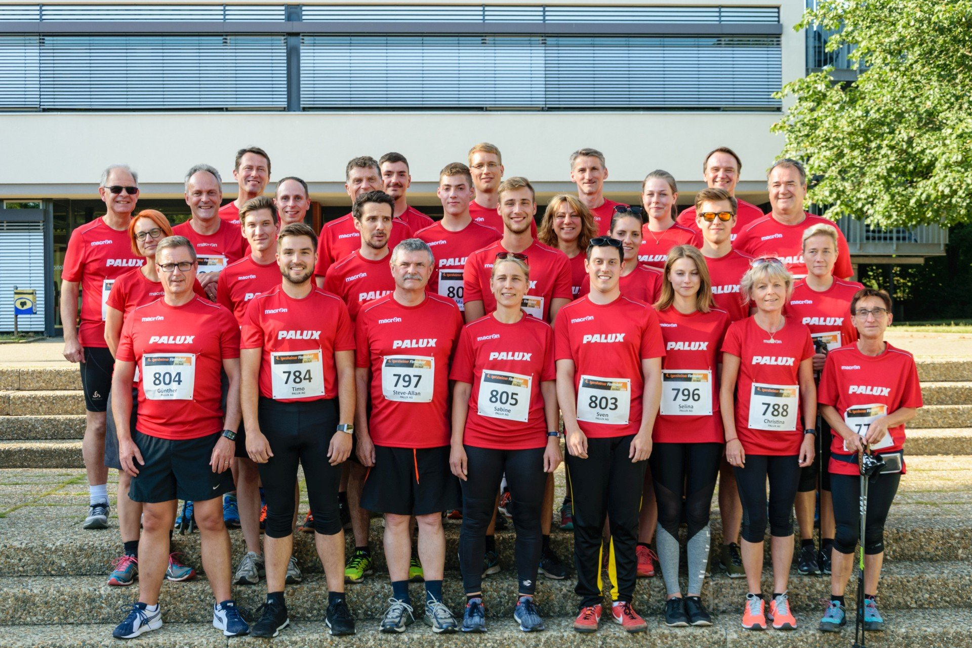 Good results for PALUX at the 4th Igersheim Company Run 2019