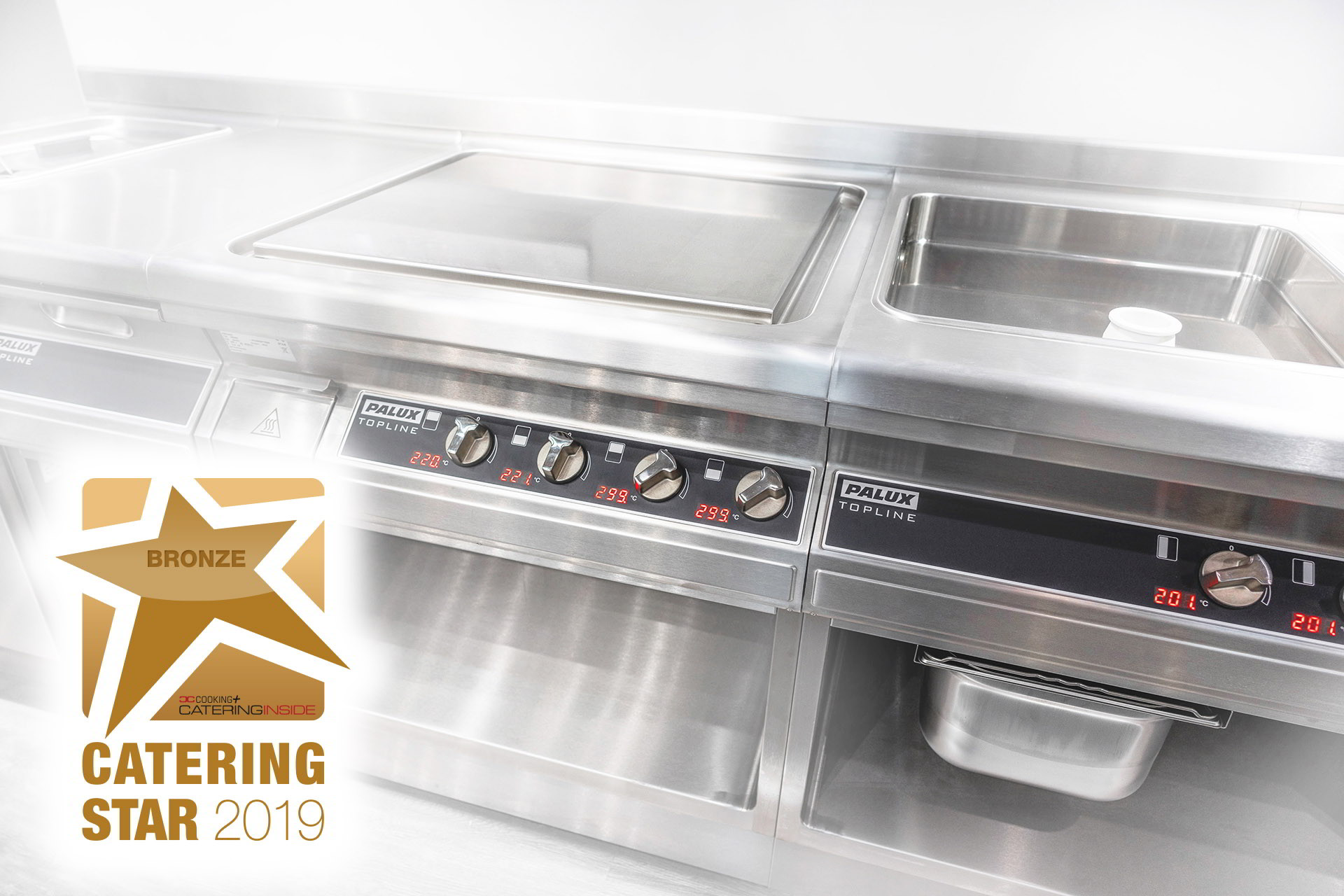 Bronze at CATERING STAR 2019 for PALUX Topline D