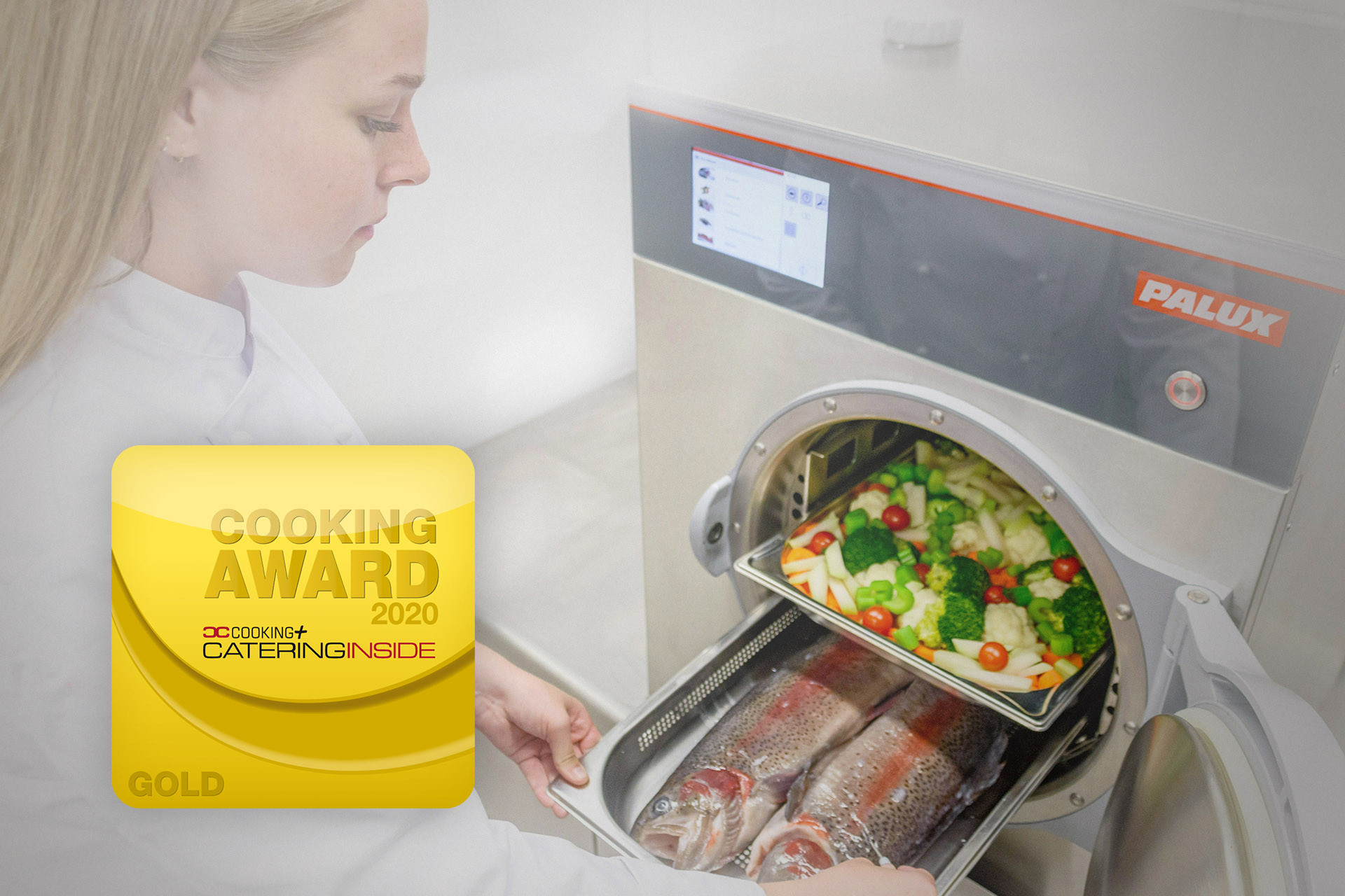 PALUX Pressure Steamer: Gold at the Cooking Award 2020
