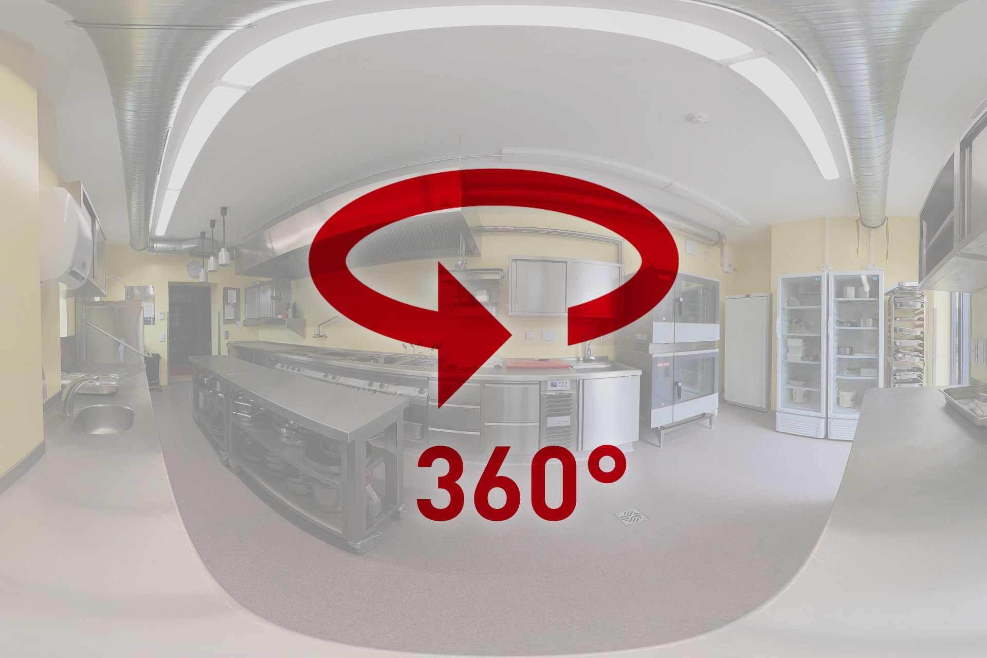 360° view into a PALUX Topline kitchen