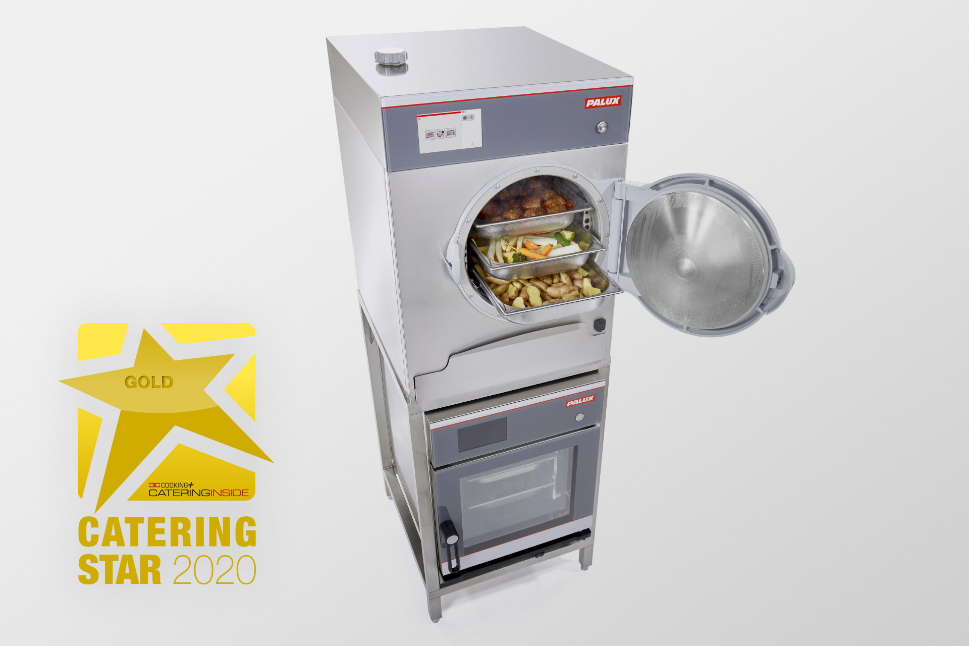 Catering Star 2020 in Gold for the PALUX SteamTeam