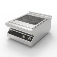 Steak Grill 600 with drain downwards